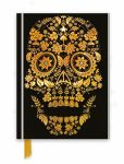 Gold Sugar Skull Foiled Notebook